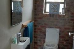 bathroom, guests
