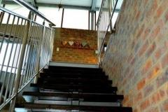 stairs to mezzanine
